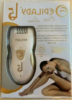 Hair Removal Electric Epilator - Epilady L5 Rechargeable Epi