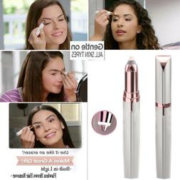 New Women's Flawless Brows Facial Hair Remover Electric Eyeb