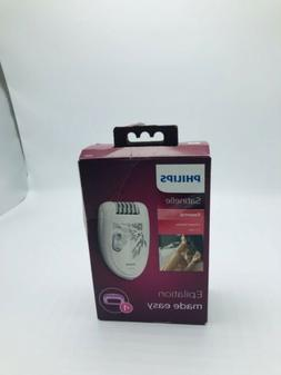 Philips Norelco HP6401/50 Satinelle Epilator White/Gray