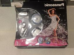 Panasonic ES-ED64-S Cleansing Brush & Epilator System with 4