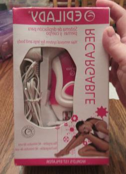 Epilady  Rechargeable Epilator Hair Removal for legs and bod