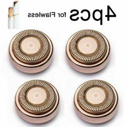 Replacement Heads For Flawless Facial Hair Remover Device