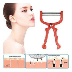 LtrottedJ Safe Handheld Face Facial Hair Removal Threading B