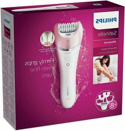 Philips Satinelle Advanced Wet & Dry Epilator - BRE640, with