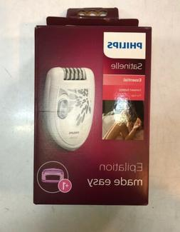 Philips Satinelle Essential Compact Epilator  Brand New