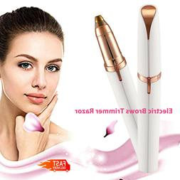 Women Electric Brows Trimmer Razor Hair Remover Facial Face