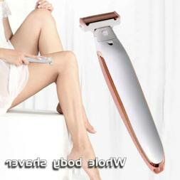 2 in 1 Epilator Touch Hair Removal Depilator Facial Body Pai