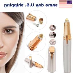 Women Shaver Electric Touch Painless Eyebrow Hair Electric R